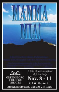 GC Theatre presents Mamma Mia! Nov. 8-11